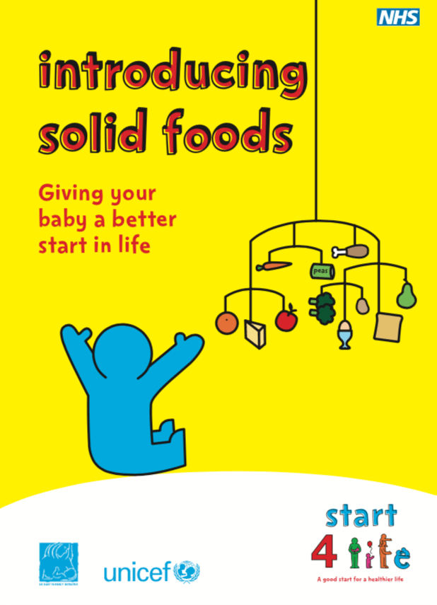 Introducing Solid Food Weaning Lewisham And Greenwich Nhs